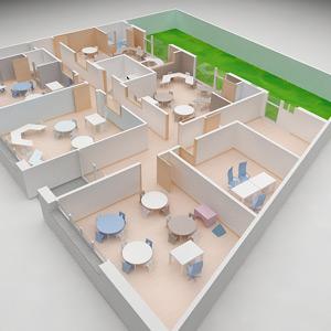 Distribución instalaciones